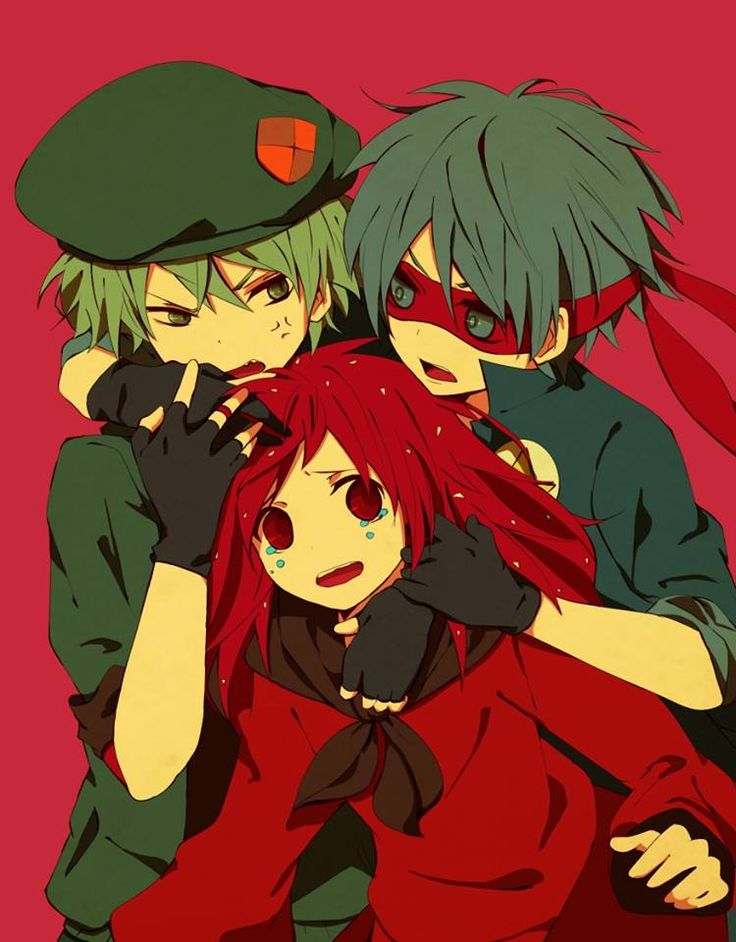 Happy Tree Friends (HTF)- Flippy, Splendid, and Flaky #Anime