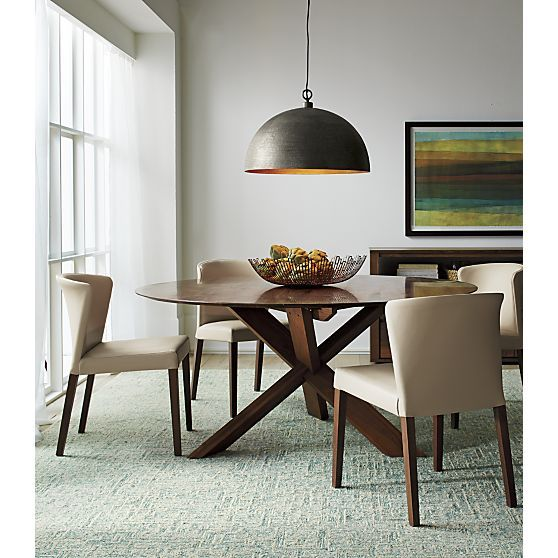 Hanging Light Above Dining Table: Trystan Sky Blue Wool-Blend Rug