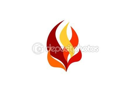 Fire, flame, logo, hot fire sign symbol icon design vector, modern flames logotype - http://depositphotos.com?ref=3904401