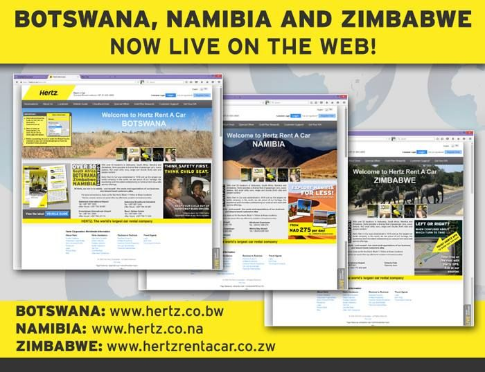 For easy access to our websites in Botswana, Namibia and Zimbabwe!