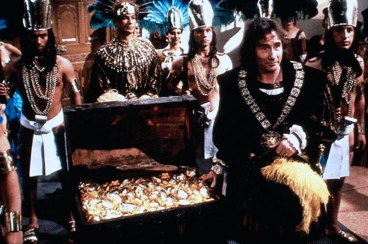 Jim Dale & Julian Clary in Carry On Columbus.