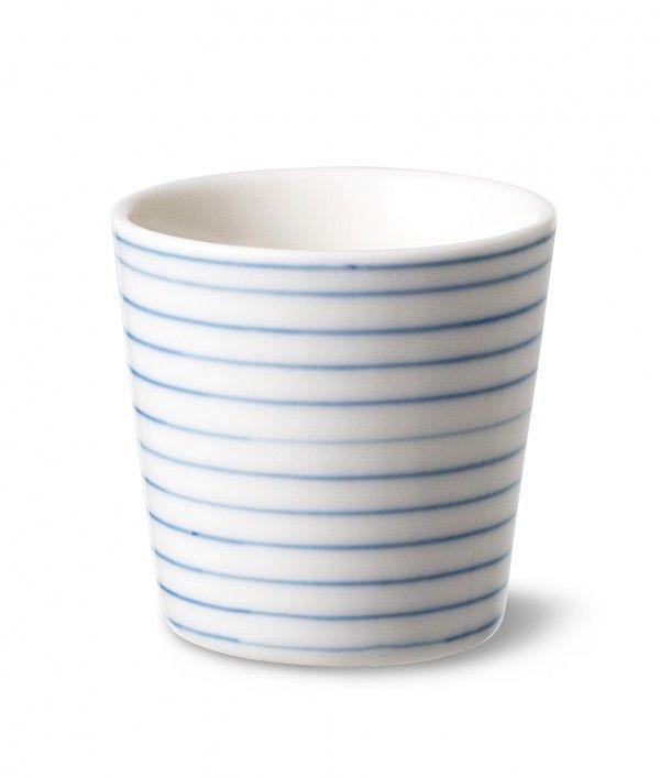 Stripes eag cup narrow blue line sr495b - Stripes eag cup narrow blue line - collections