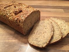 Hafer Eiweißbrot (Low Carb) ohne Pulver (Baking Bread Healthy)