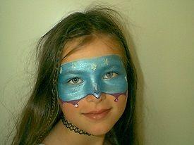 Geschminkte Masker