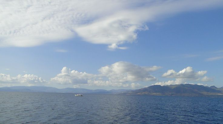 I love to sail, particularly in warm places! This was taken in Greece, last summer.