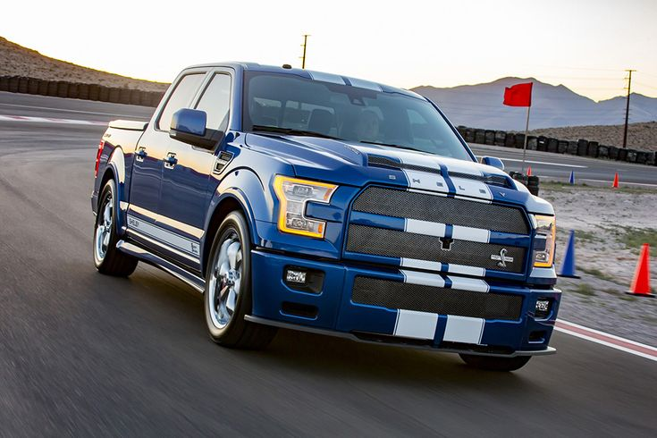 2017 Ford Shelby F-150 Super Snake debuts with 750 horsepower