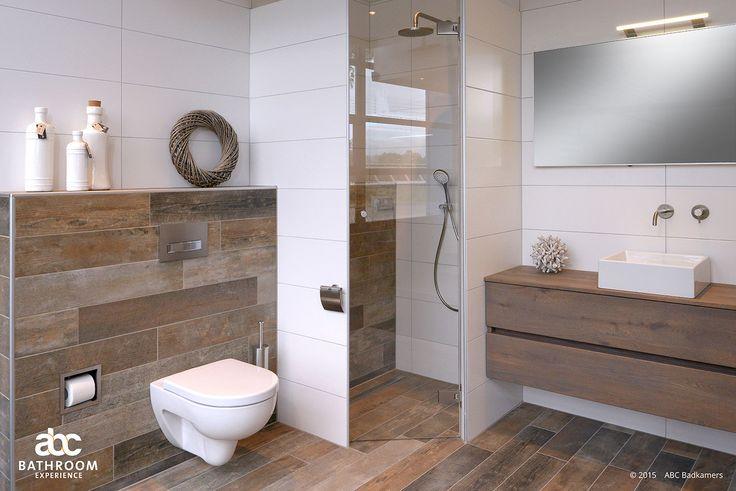 Inspiratie doet u op bij ABC Badkamers. Om uw droombadkamer te kunnen realiseren kunt u zich laten inspireren uit vele badkamer- en toilet opstellingen.