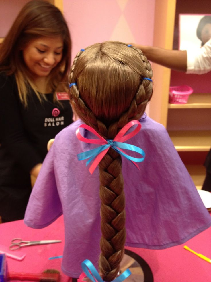 American Girl Doll Kanani's Hair.