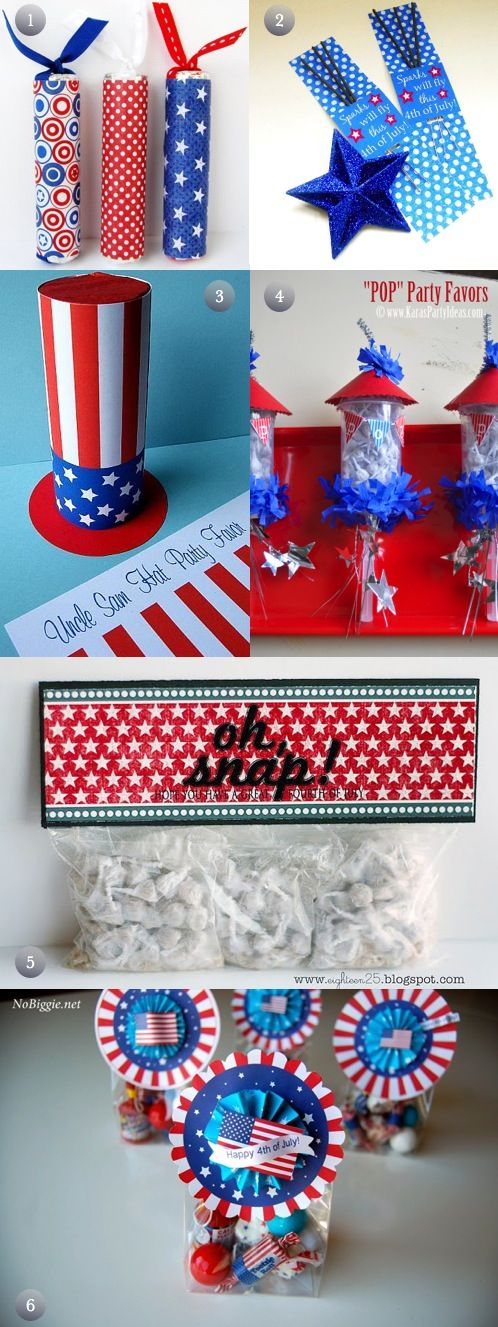 6 DIY 4th of July Party Favors | Crafts and DIY Community