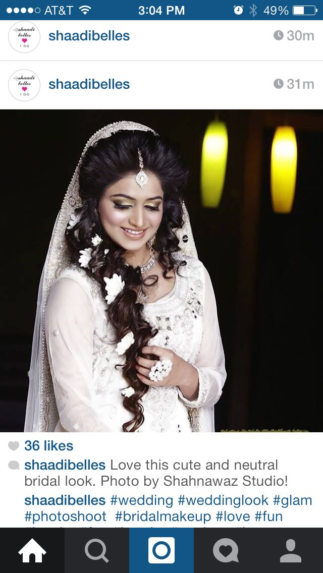 Love the hair. Would be nice for mehndi ceremony