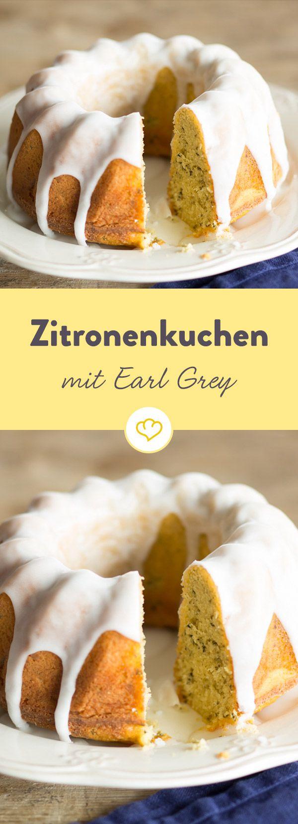 Herrlich duftender Earl Grey, dazu eine spritzige Zitronennote und fertig ist ein leckerer Kuchen.