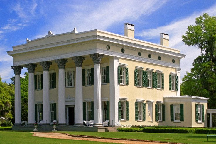 Plantation homes in south carolina millford plantation for Antebellum homes