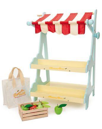 Kaufladen HONEYBEE MARKET in pastellgelb von Le Toy Van ✔ Kurze Lieferzeit ✔ Jetzt bei tausendkind kaufen!