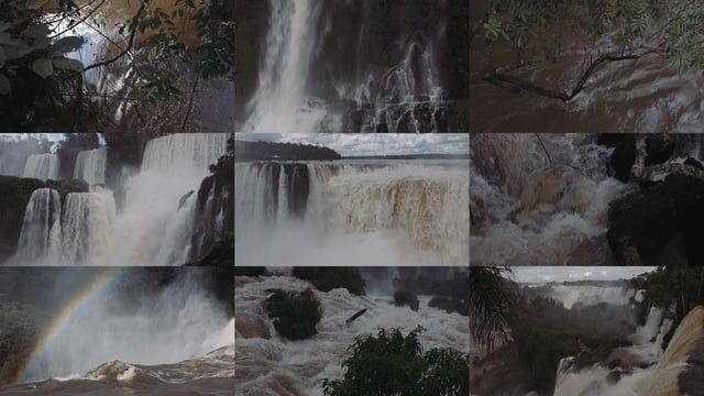 A little compilation of some river/waterfall/whitewater reference footage I filmed while visiting the Iguazu Waterfalls, both on the Argentinian and Brazilian sides. Download original file for best quality!  Shot with the Canon 5D. Edited in Premiere.  Track: ベランダにて by Haruka Nakamura