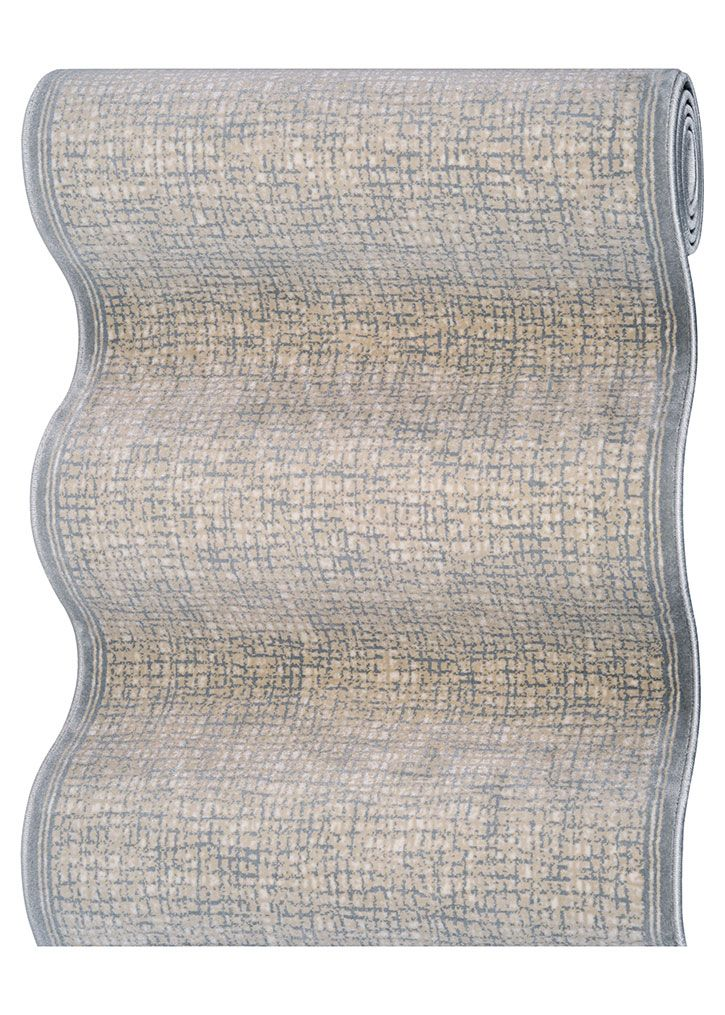 """Couristan Raelyn CBK3-B003A Platinum 2'7"""" (31"""") Wide Hall and Stair Runner"""
