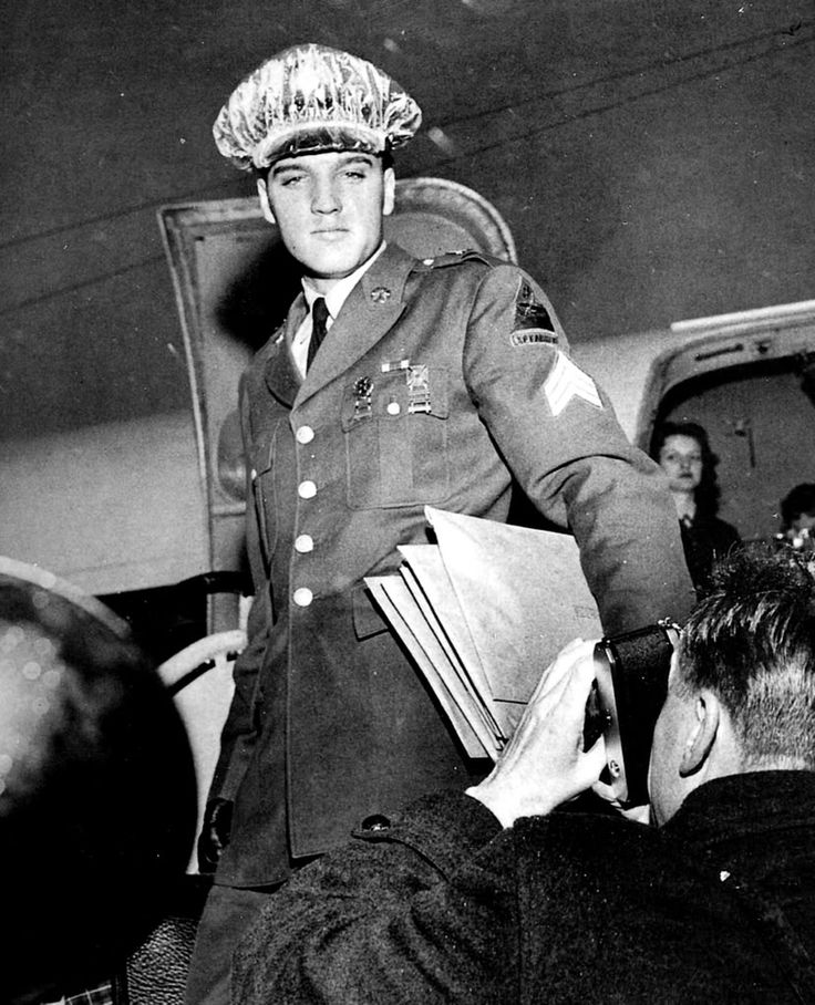 794 Best King ELVIS - Army Pics Images On Pinterest