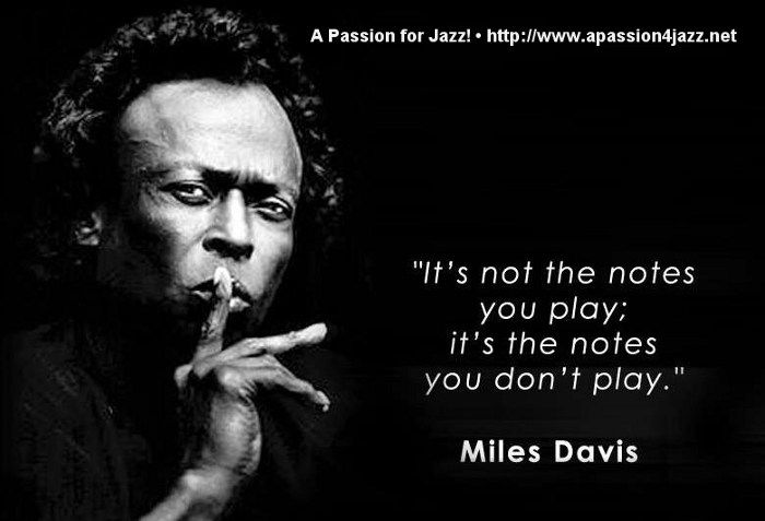 music quotes miles davis - Sök på Google