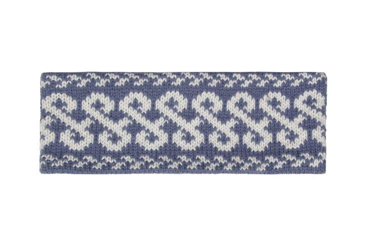 Blue Celtic Knot - Head Band