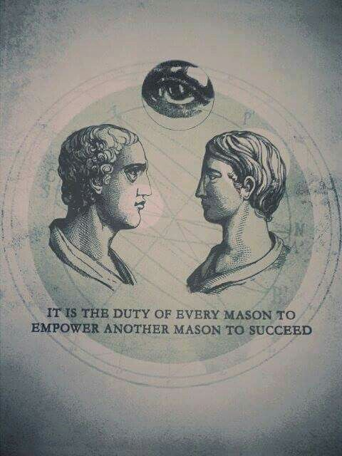 Freemasons promote their own at the expense of non-Masons. This is how Satan operates in the world. If you sell your soul to Satan by becoming a Freemason, you can have earthly desires. Don't do it. Research before you commit to a Satanic brotherhood.