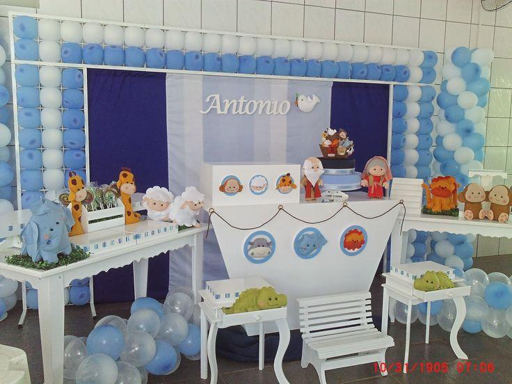 decoração festa infantil - Claudia Hayasida - Londrina - PR: Arca de noé