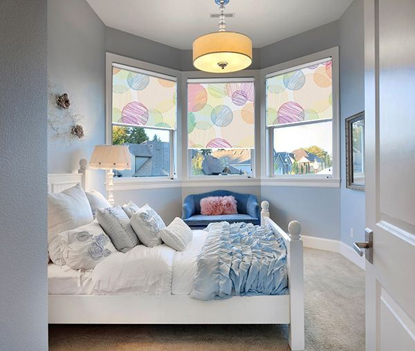Fotorolety do sypialni. Piękne pastelowe kolory