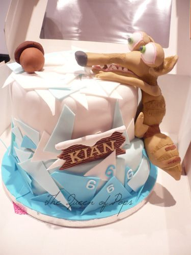 Made for a colleague's son, who is a huge Ice Age-fan.