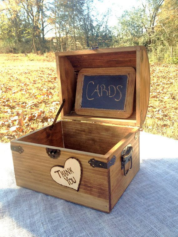 something like this for programs: Large Shabby Chic and Rustic Wooden Card Box - Rustic Wedding Decor - Wedding Card Box - Rustic Wedding Card Box - Program Box. $55.00, via Etsy.