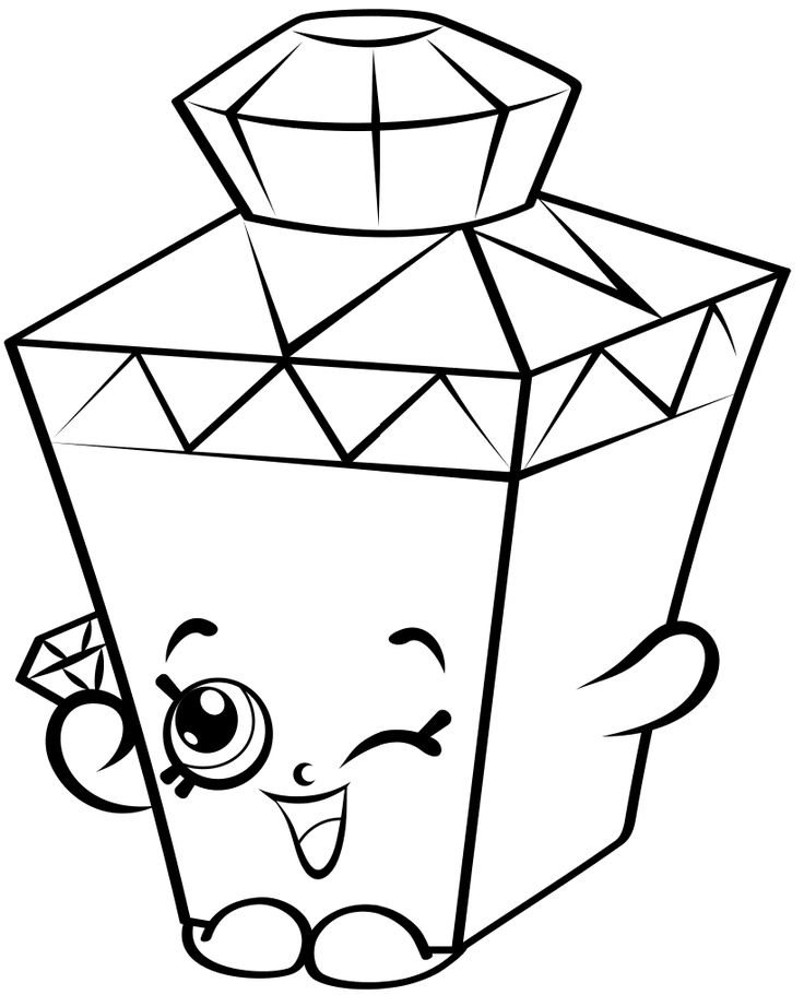 53 best Shopkins Coloring Pages images on Pinterest Coloring books Coloring pages and
