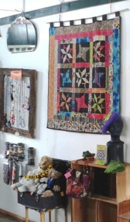 Quilts and jewellery