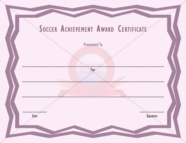 7 Best Sports Certificate Templates Images On Pinterest