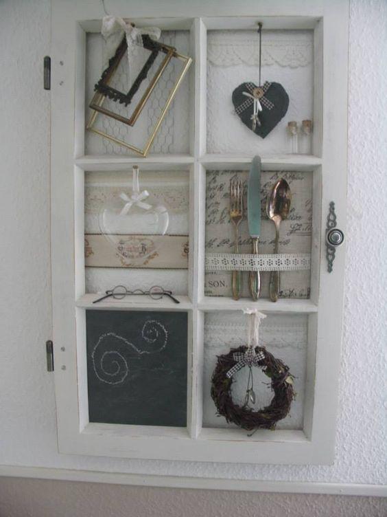 d corer avec une vieille fen tre voici 15 id es pour vous inspirer d co vintage. Black Bedroom Furniture Sets. Home Design Ideas