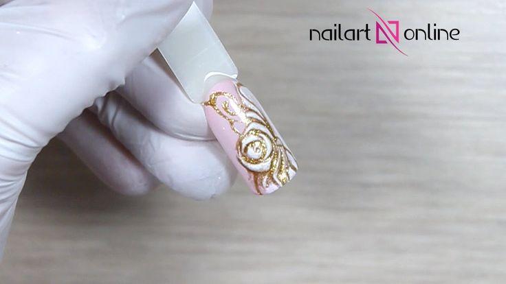 Маникюр и рисунки на ногтях. Весенний дизайн ногтей №22