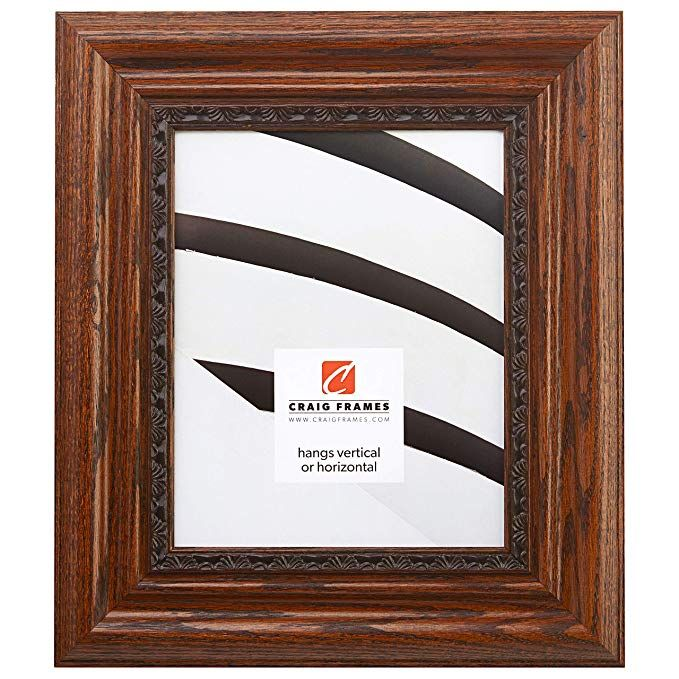 Craig Frames 81373100 Dark Brown Oak Picture Frame 20 By 26 Inch Review Oak Picture Frames Distressed Picture Frames Craig Frames