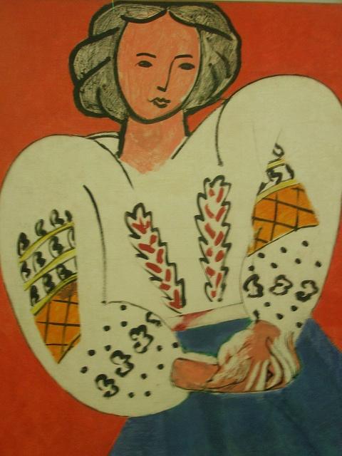 Henri Matisse 'La blouse roumaine' (The Romanian Blouse) by hanneorla, via Flickr