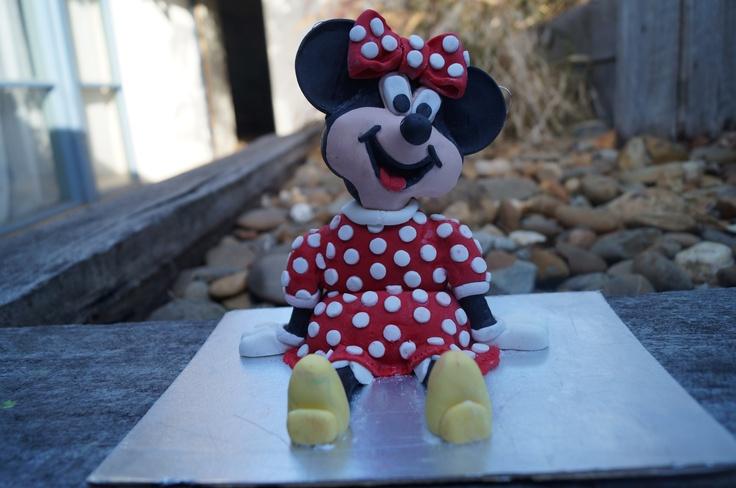 Large handmade Minnie Topper