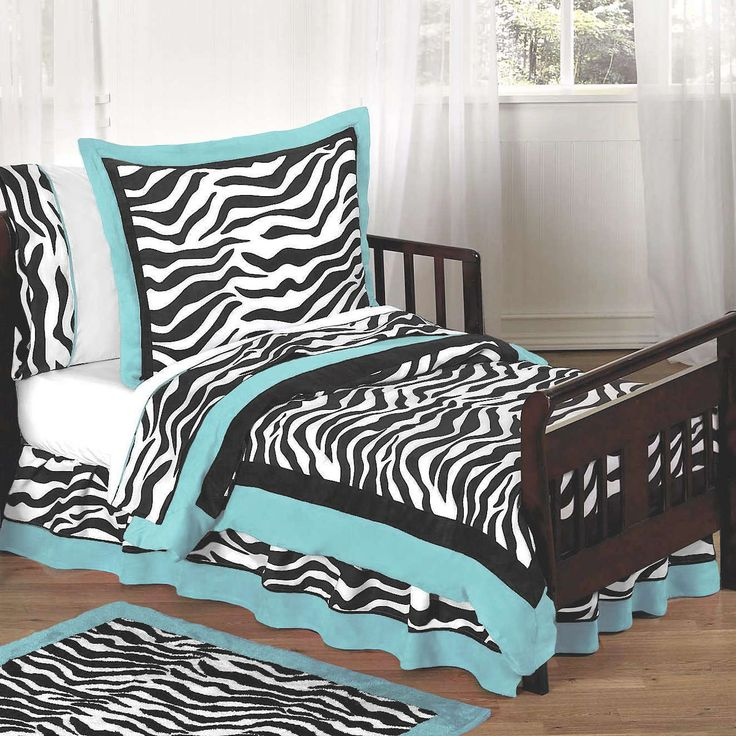 Black and white bedroom ideas bedroom design turquoise for Zebra print bedroom ideas