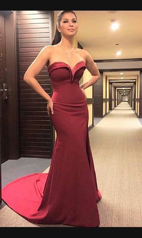Angel Locsin Filipina actress she look stunning.