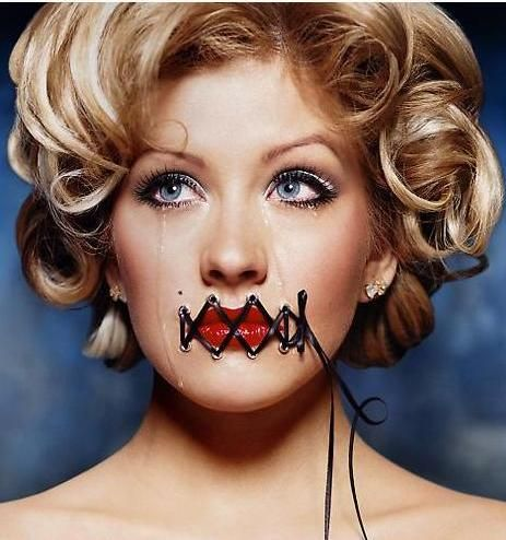 david lachapelle, art, photography, music, christina aguilera