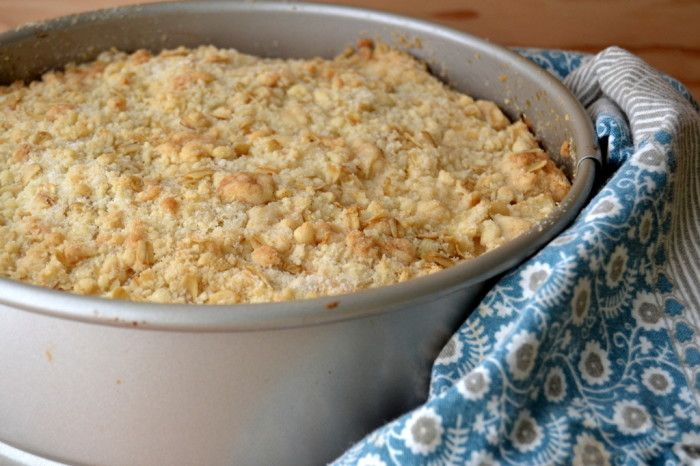 This is an authentic Irish apple cake, the kind that would be made throughout the apple harvest season all over Ireland!