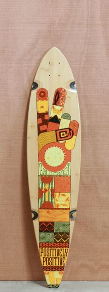 "GoldCoast 40"" Origin Longboard Deck $90.00"