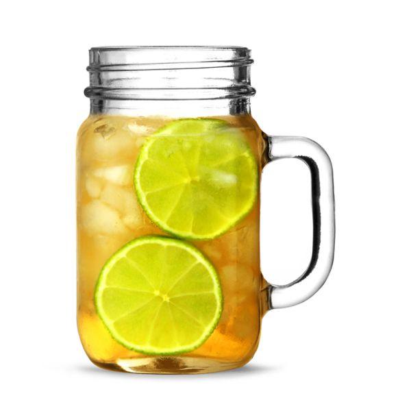 Un borcan halbă, perfect pentru limonadă sau alte băuturi răcoritoare. Va deveni rapid vedeta oricărei petreceri, indiferent de tematică :-)