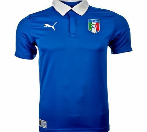 Puma Italy Home S/S Football Shirt Blue - size M No description (Barcode EAN = 4051412536461). http://www.comparestoreprices.co.uk/football-shirts/puma-italy-home-s-s-football-shirt-blue--size-m.asp