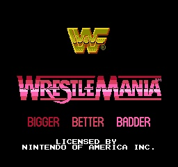 Wwf Wrestlemania Usa Rom For Nes Wwf Wrestlemania Wrestling Games