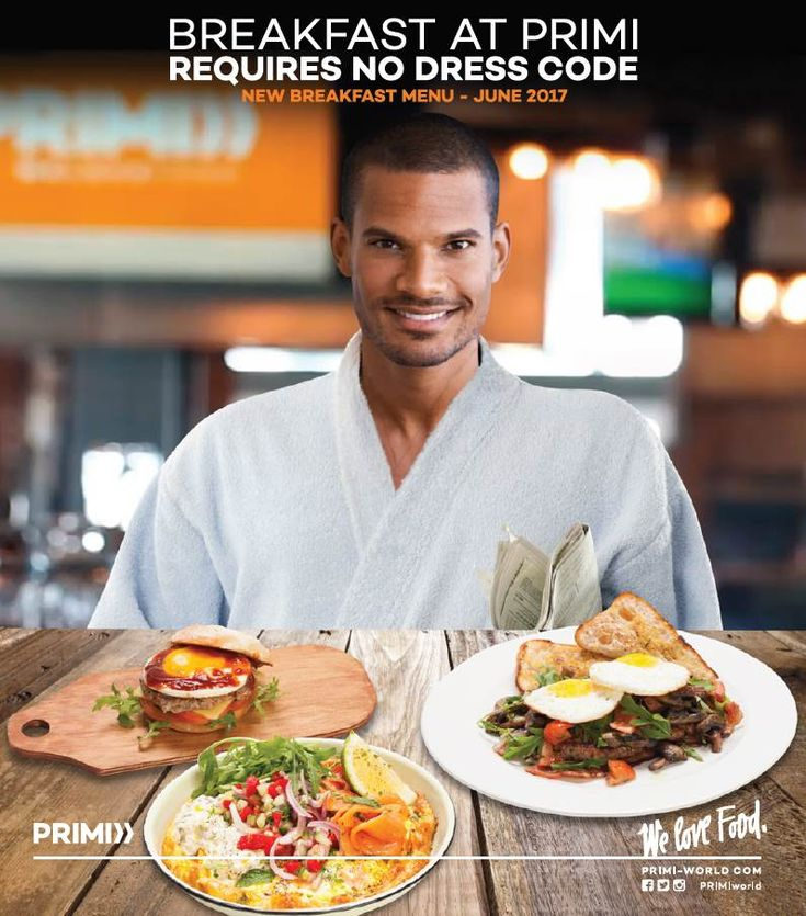 Win One of Two Breakfast Voucher at PRIMI