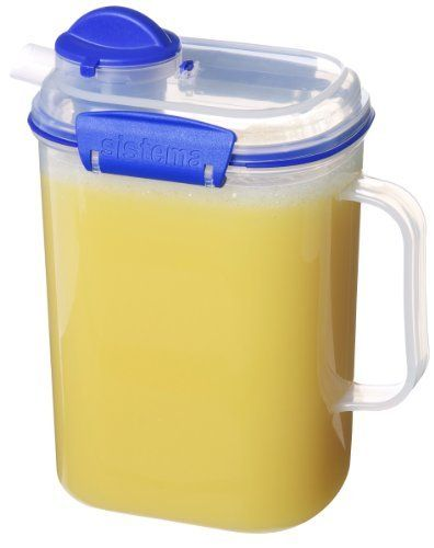 With Easy Open Locking Clips And A Rubberized Seal This Juice Jug Ensures That Contains Remain Fresh Crafted From Bpa Free Materials It S Safe To Use In