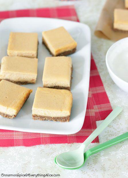 Sweet Potato Cheesecake Bars | Cinnamon Spice & Everything Nice