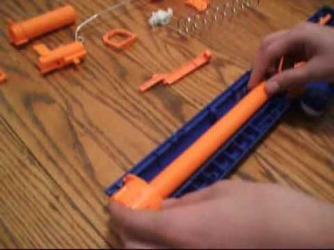 How To Put a nerf Raider CS-35 Back Together Part 1