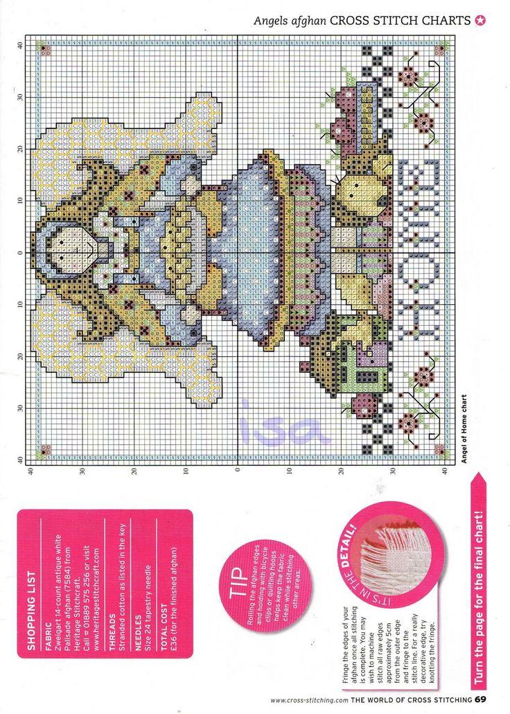 Favoloso Oltre 25 fantastiche idee su Punto croce gratis su Pinterest  BT94