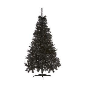 1.82m (6ft) Mixed Pine Black Christmas Tree