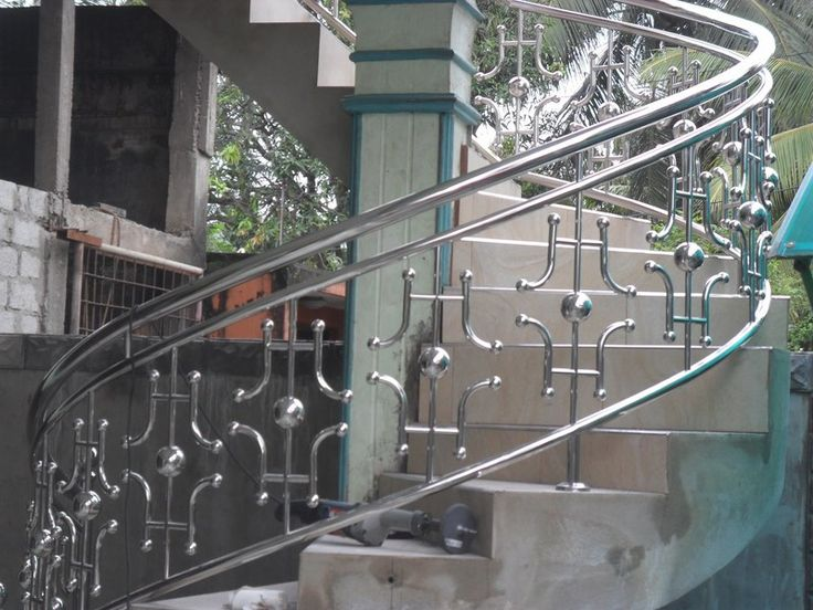 Stainless Steel Balcony Railing Stairs Ideas Low Picket ...